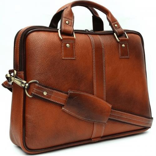 Leather Laptop Bag Man
