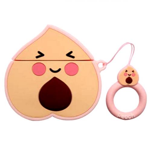 AirPod Case Peach