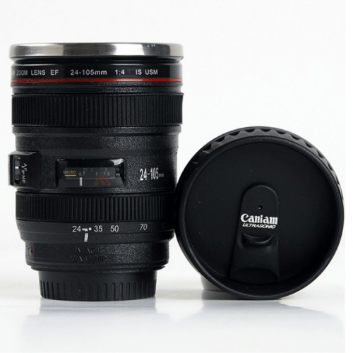 Camera Lense Coffee Mug