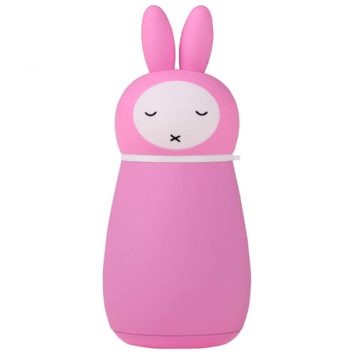 Pink Rabbit Flask
