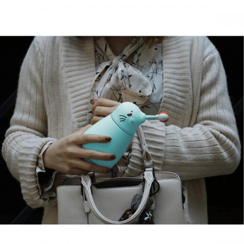 Sea Lion Flask Blue