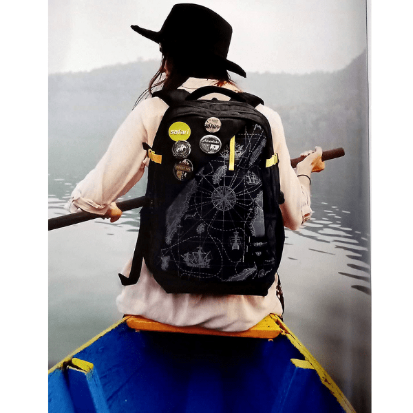 Black Safari Backpack - Bulk Deal