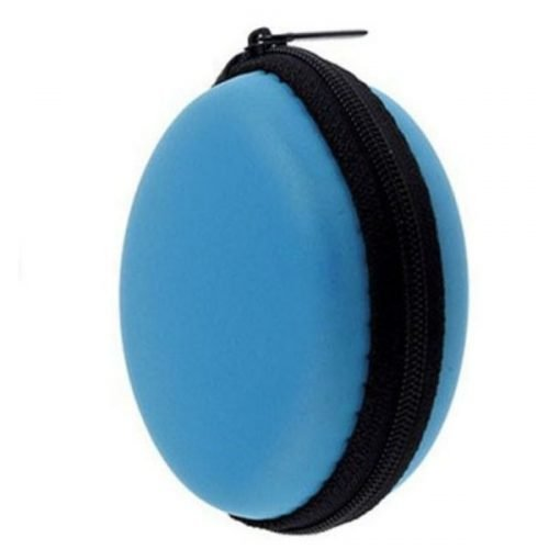 Earphone Pouch Blue