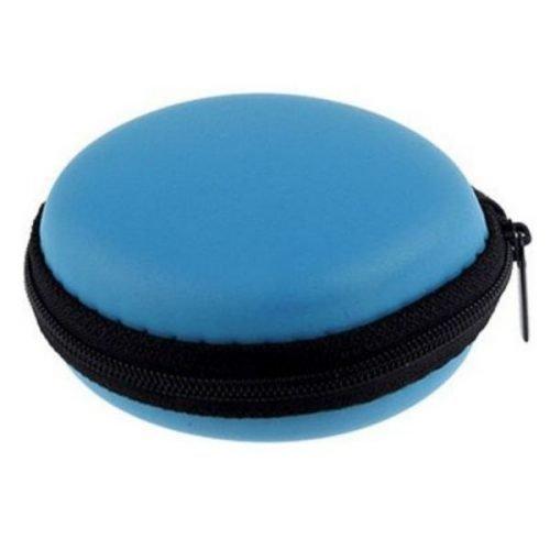 Earphone Pouch Blue