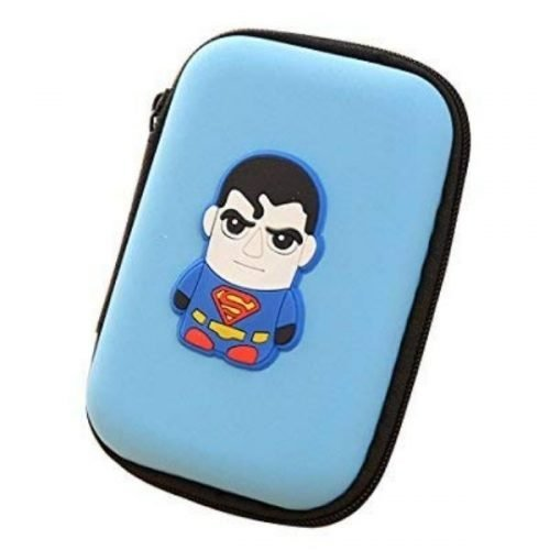 Earphone Pouch Superman