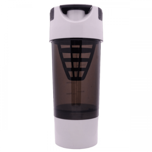 Gym Bottle White