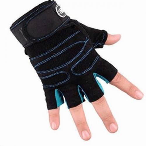 Gym Gloves Blue
