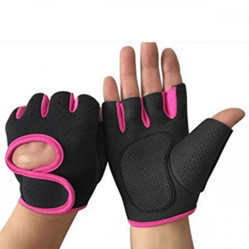 Gym Gloves Pink