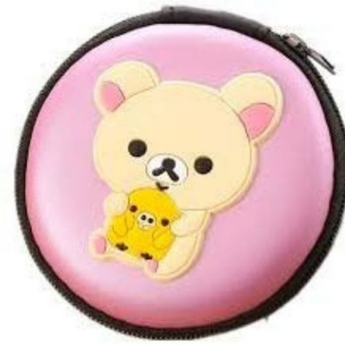 Pink Bear Earphone Case