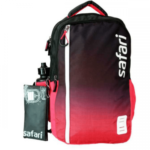 Red Safari Bags