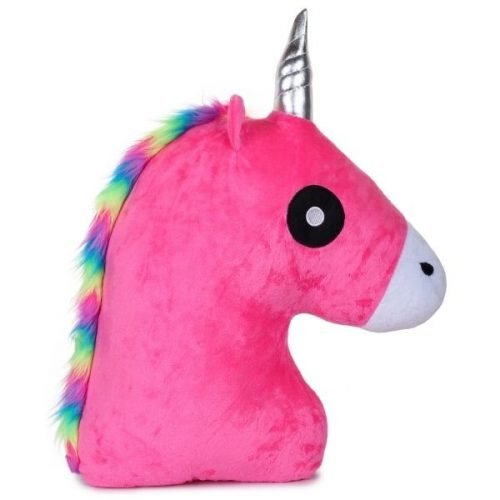 Unicorn Horse Pillow Pink