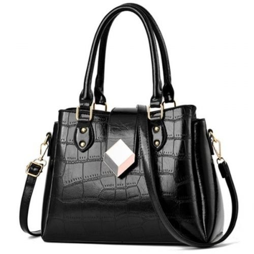 Woman's Black Handbag