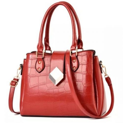 Woman's Red Handbag