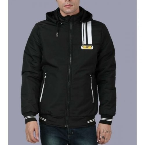 Hooded Jacket Black