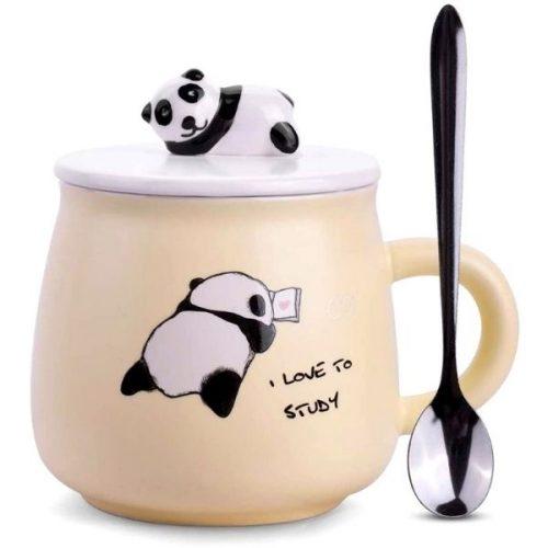 Panda Coffee Mug Yellow