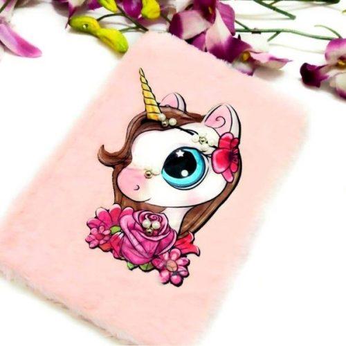 Unicorn Fur Light Diary