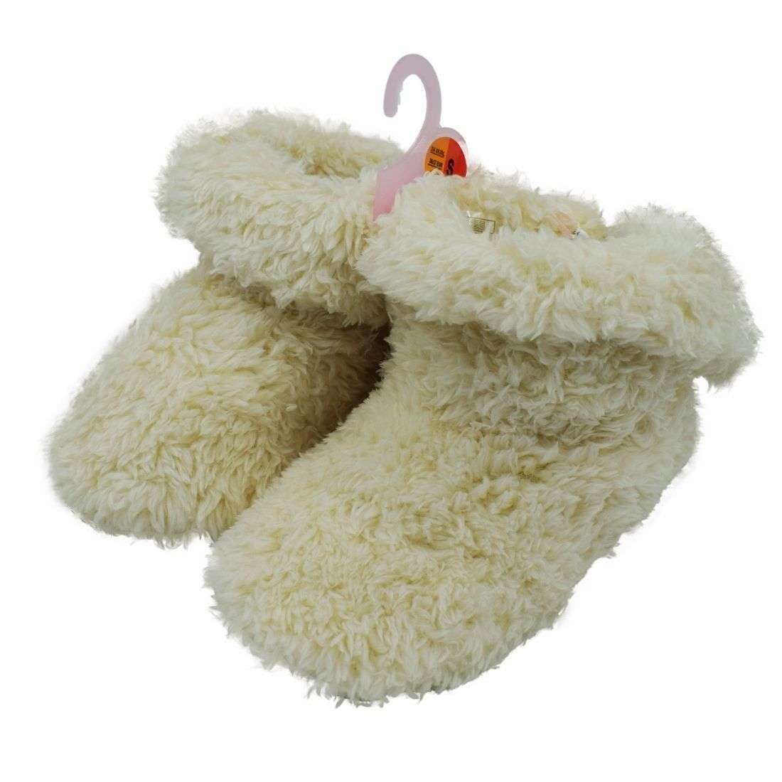 White Fur Shoes