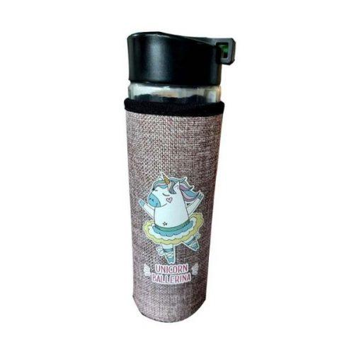 Unicorn Glass Bottle