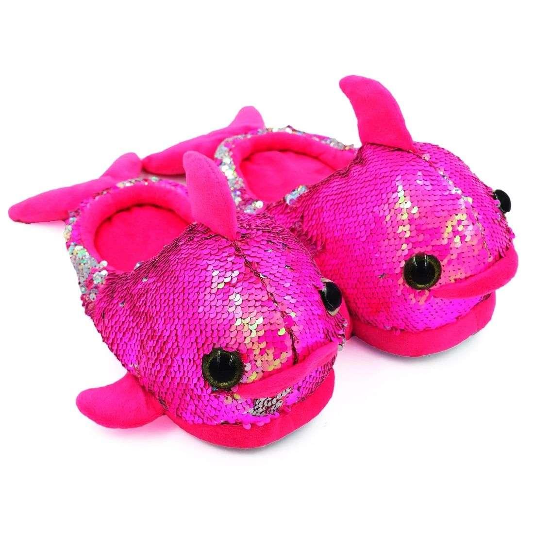 Fish Plush Slipper Pink - Bulk Deal