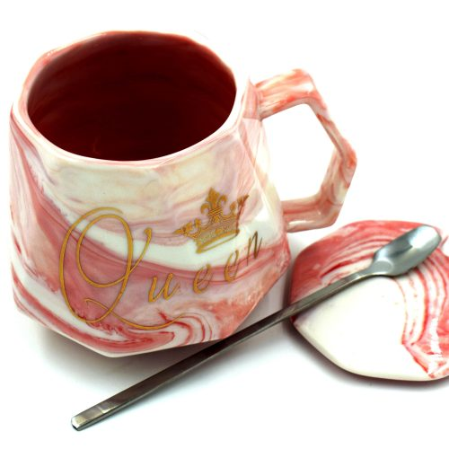 Queen Coffee Cup Pink