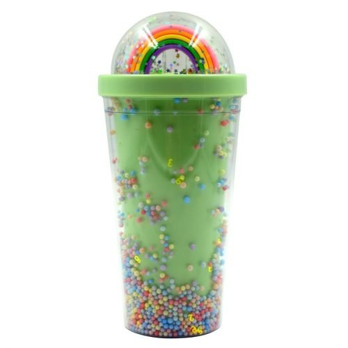 Rainbow Water Sipper Green