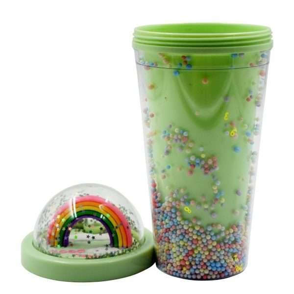 Rainbow Water Sipper Green - Bulk Deal