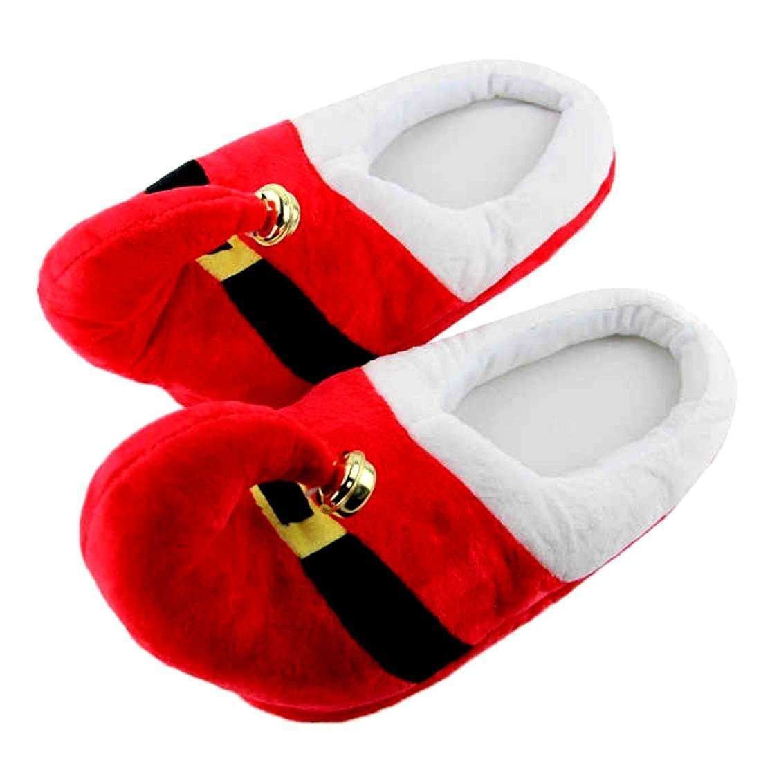 Santa Bell Slippers