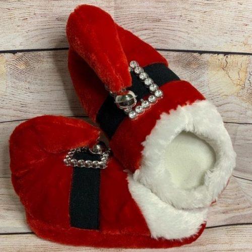 Santa Red Slipper