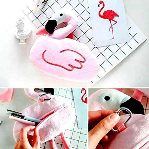 Flamingo Pencil Pouch -Bulk Deal