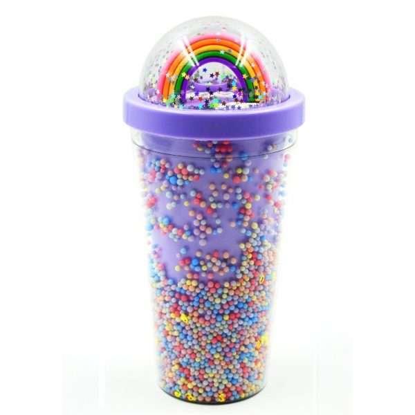 Rainbow Water Sipper Purple