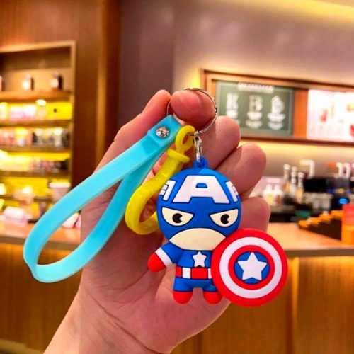 Captain America keychain And Keyring