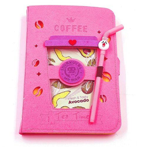 Coffee Mug Shape Notebook