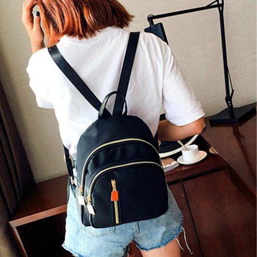 Girls Unique Backpack Black