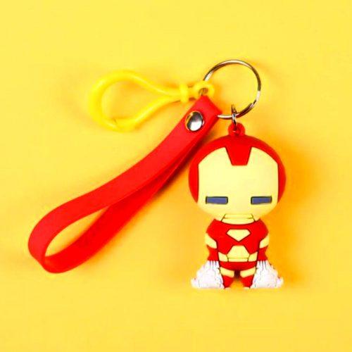 Iron Man Keychain And Keyring