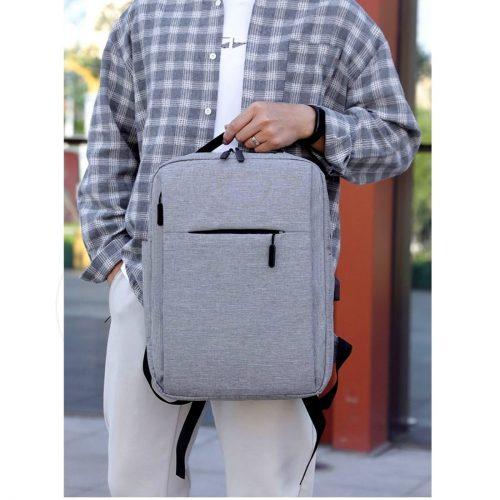 Men Casual Backpack Grey