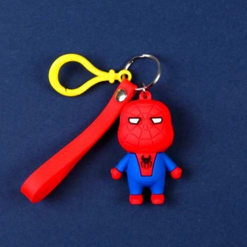 Spiderman Keychain And Keyring