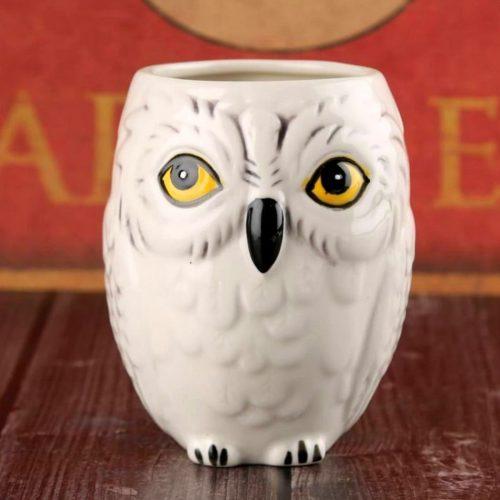 Unique Owl Face Coffee Mug