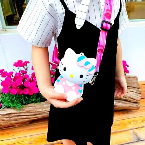 Kitty Coin Case For Girls