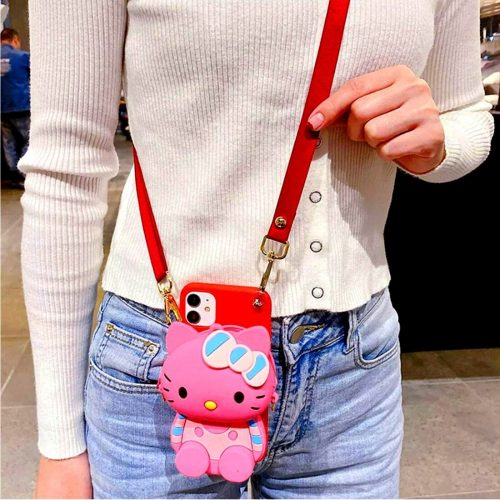 Kitty Coin Case Pink For Girls